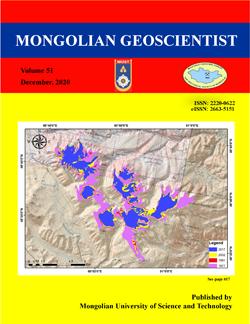 Монголын Гeосудлаач сэтгүүлийн шинэ дугаар хэвлэгдлээ, уншиж танилцана уу.